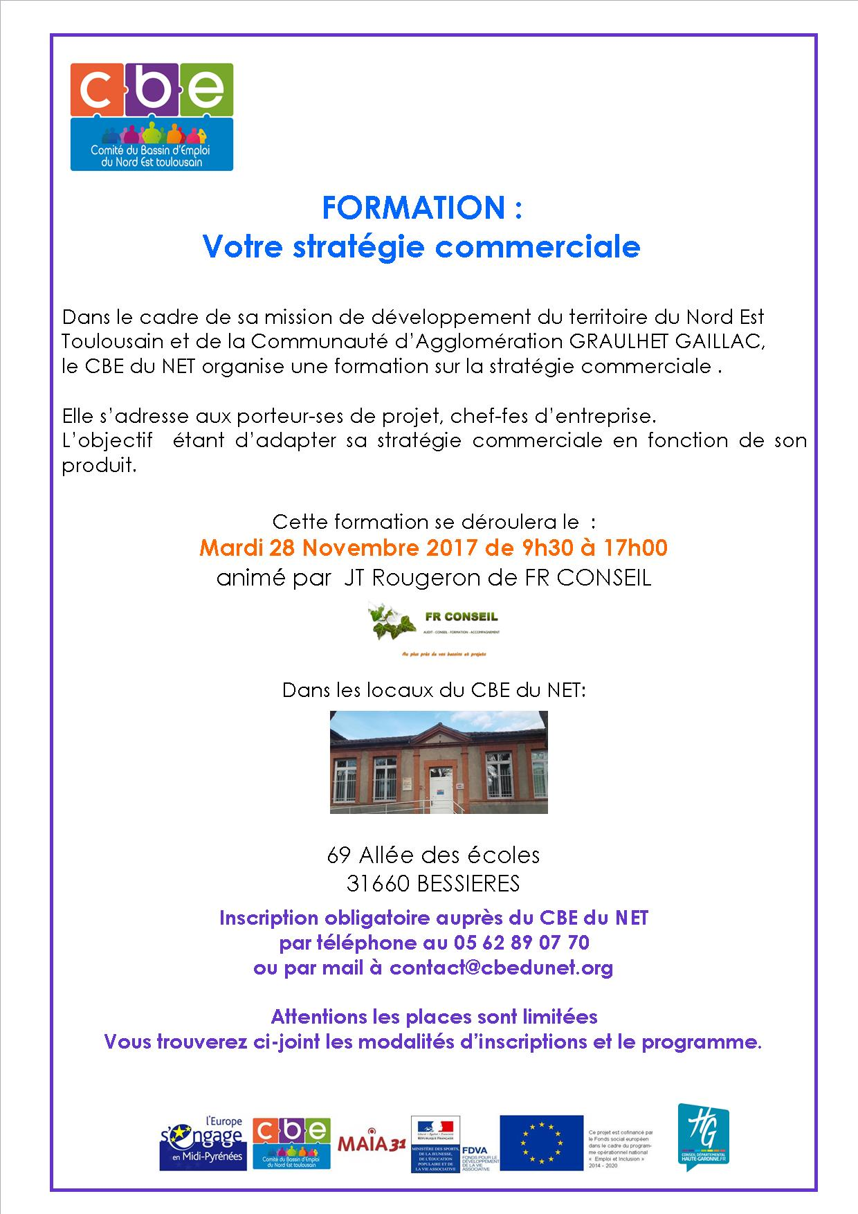 Invitation strategie commerciale