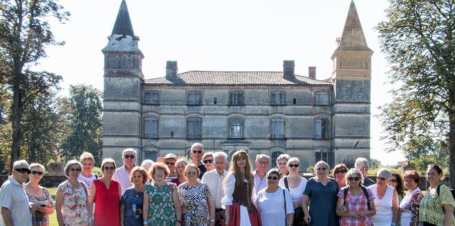 Sortie culturelle château de Bonrepos-Riquet